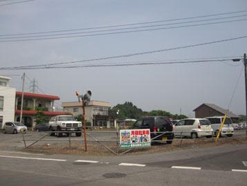 上千束駐車場(水戸市)