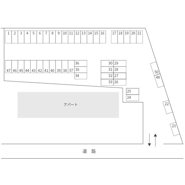 北見町小浜材木店駐車場(水戸市)