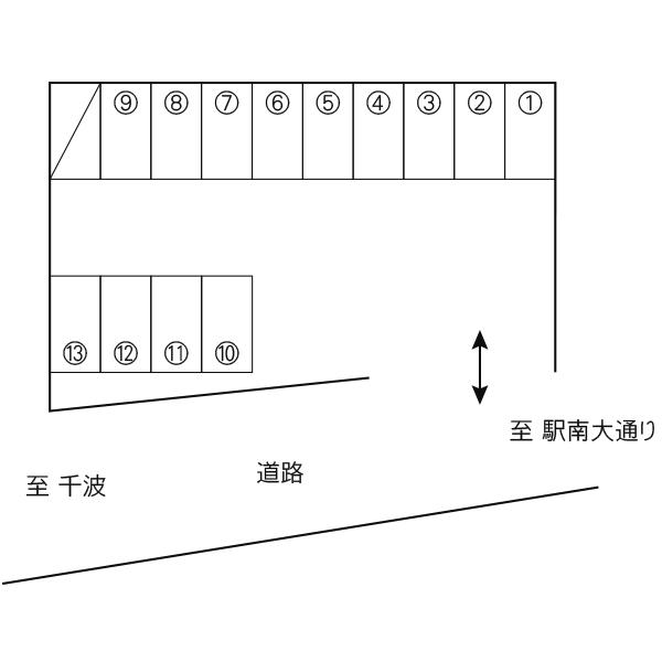 元吉田町荒谷駐車場(水戸市)