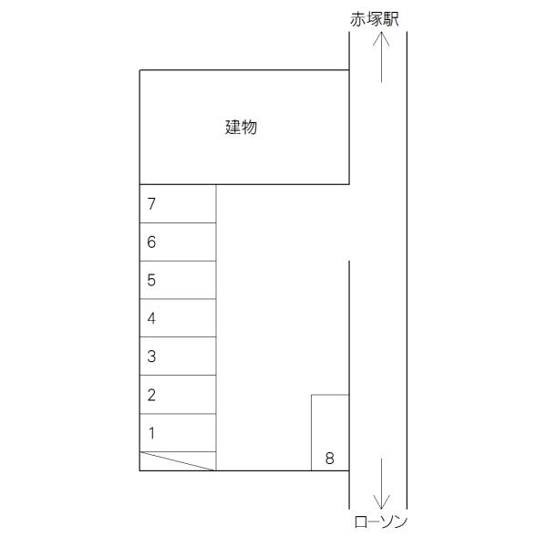 河和田1丁目駐車場 I(水戸市)