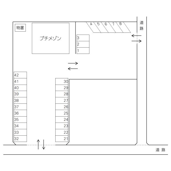 千波町山本駐車場(水戸市)
