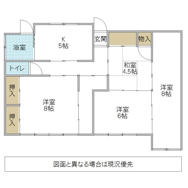 吉沼町平屋 1(水戸市)