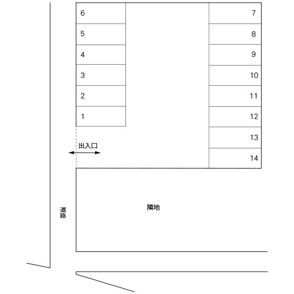 赤塚2丁目駐車場(水戸市)