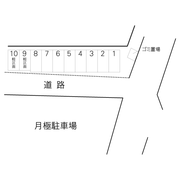 元吉田町佐々木駐車場(水戸市)