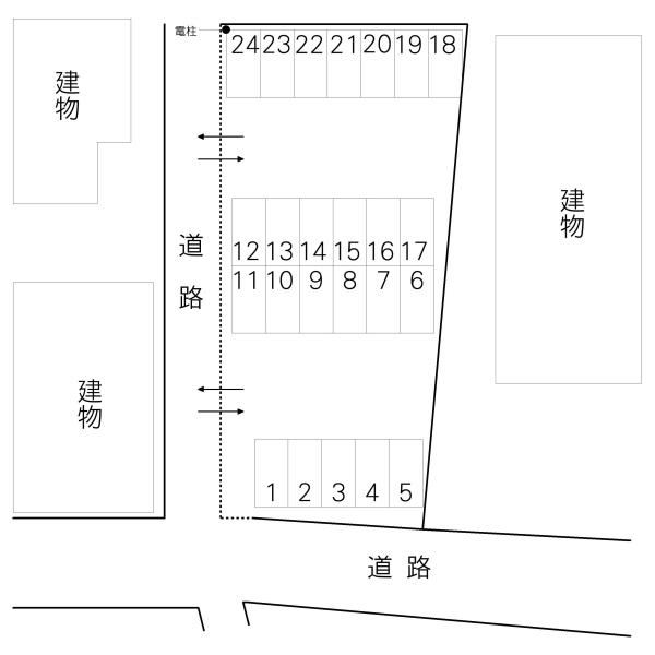 八幡町大内駐車場(水戸市)