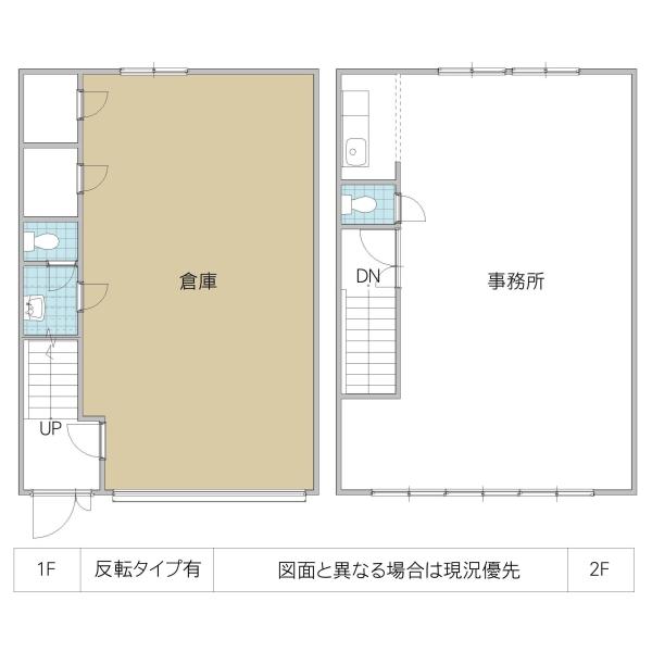 見川4丁目倉庫付事務所(水戸市)