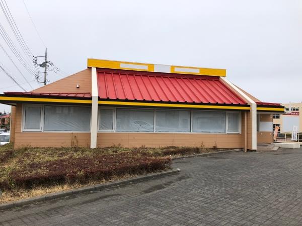 千波町飲食店跡店舗(水戸市)