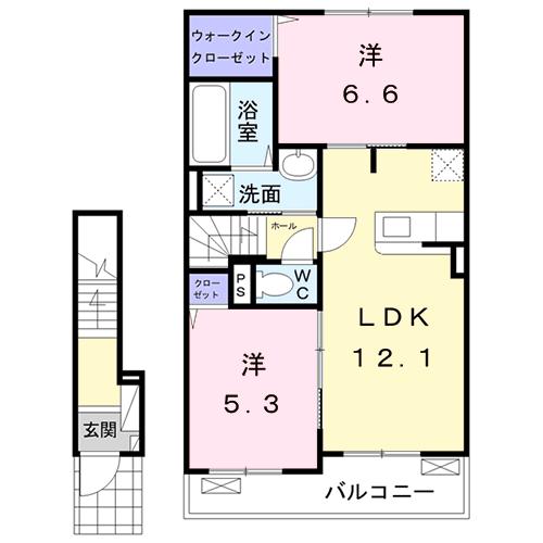 ラ・グラシューズ II(龍ケ崎市)