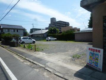 柳の小路駐車場(水戸市)